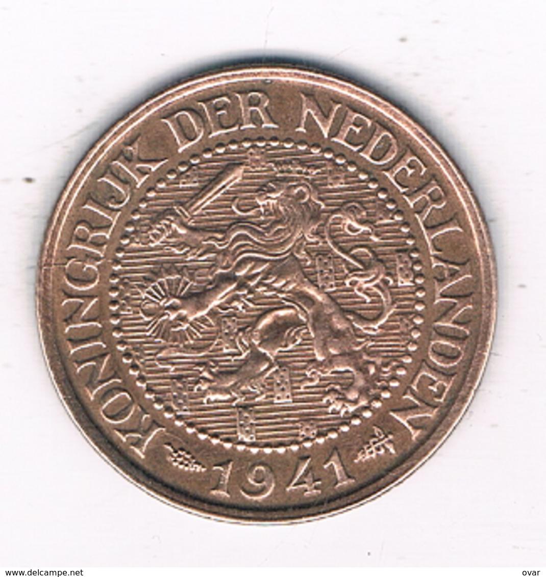 2 1/2  CENT 1941   NEDERLAND /4146/ - 2.5 Cent