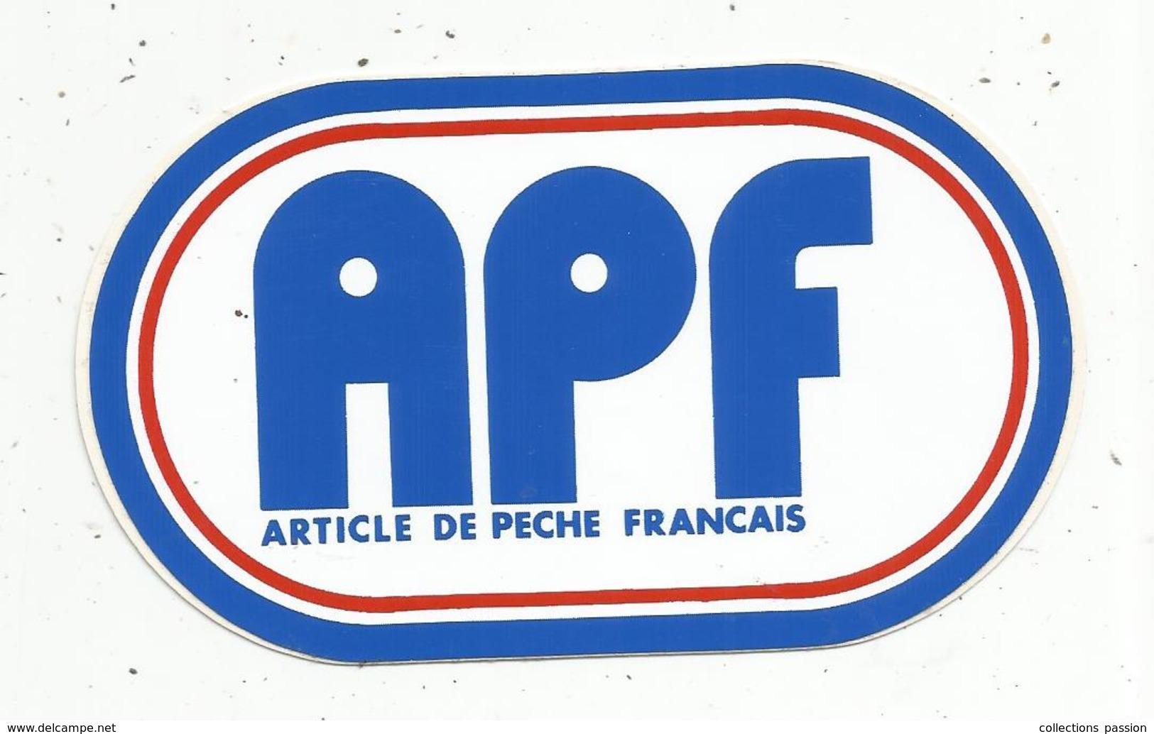 Autocollant ,article De Pêche Français APF - Autocollants
