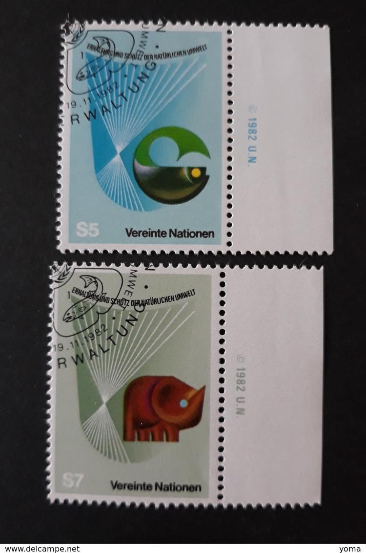 N° 27 Et 28      Conservation Et Protection De La Nature - Centre International De Vienne
