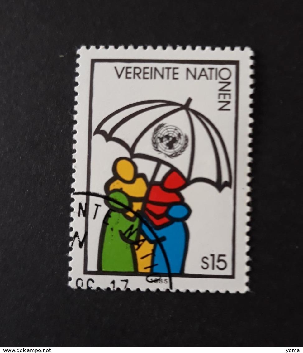 N° 50      L' ONU Protégeant Les Peuples - Centre International De Vienne