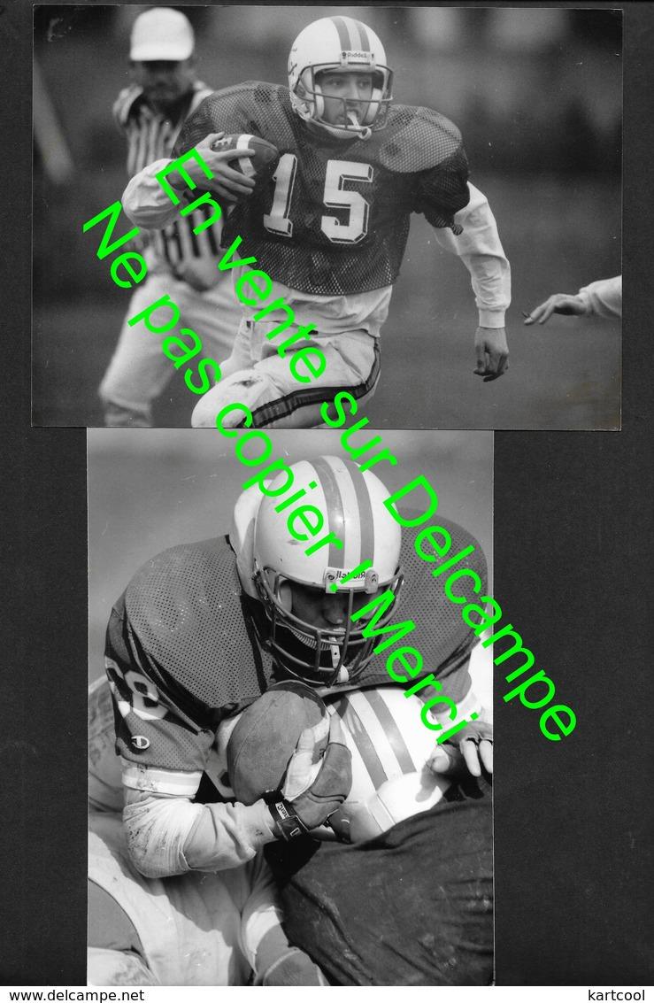 Football Americain - Tarn ? - 4 Véritables Photos 11X17cm Env (No CP) - Bien Lire Descriptif - Sport