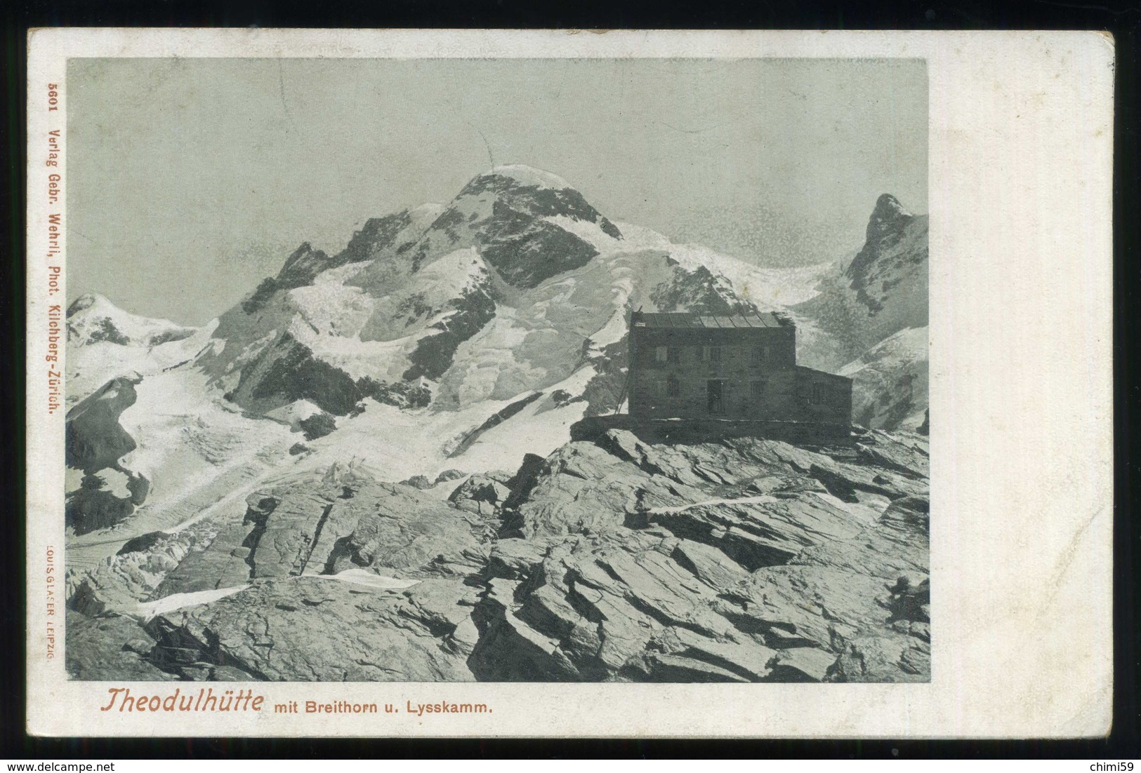 VALTOURNENCHE - RIFUGIO TEODULO - THEODULHUTTE - Italy