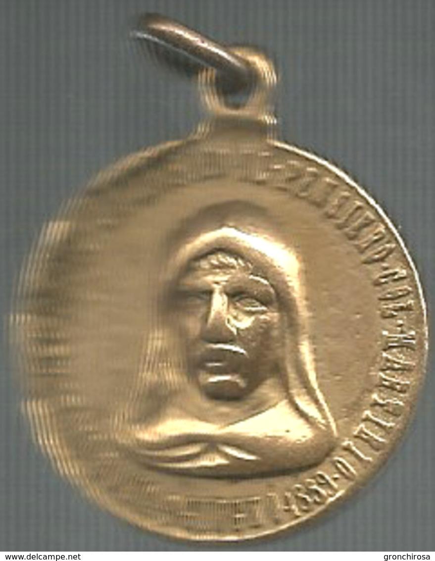 Giordano Bruno 1889, Erezione Del Monumento In Campo Dei Fiori, Ae. Dorato Gr. 13, Cm. 2,9. - Altri