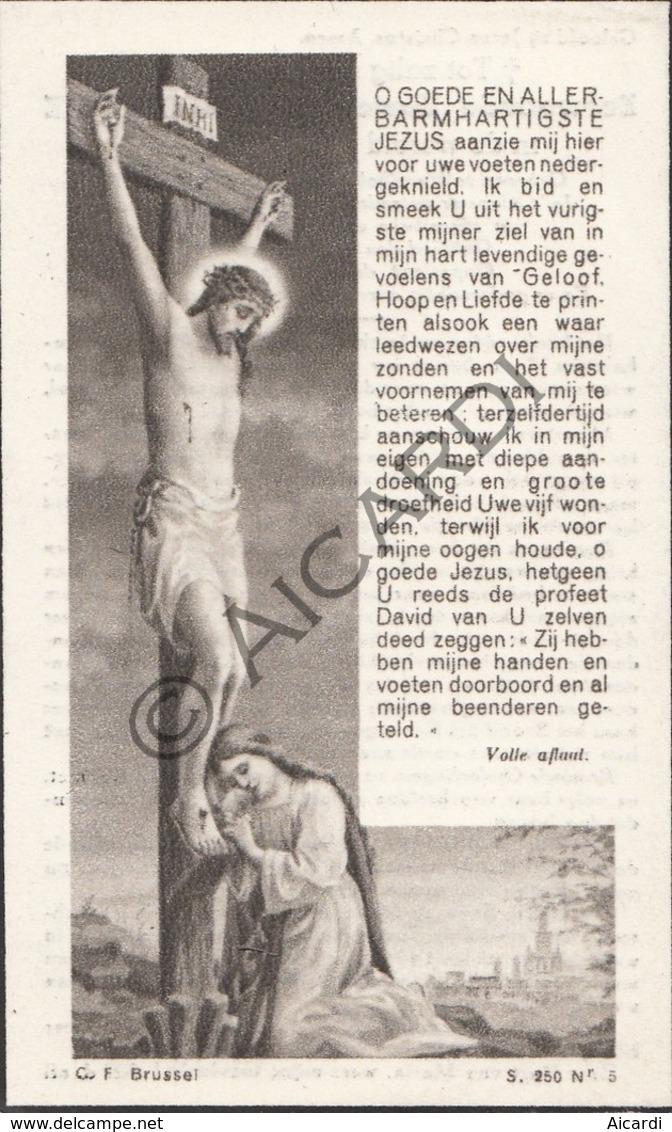 Doodsprentje Zuster/Soeur Maria-Eulalie / Marie Decoster °1877 Harelbeke †1949 (B217) - Décès