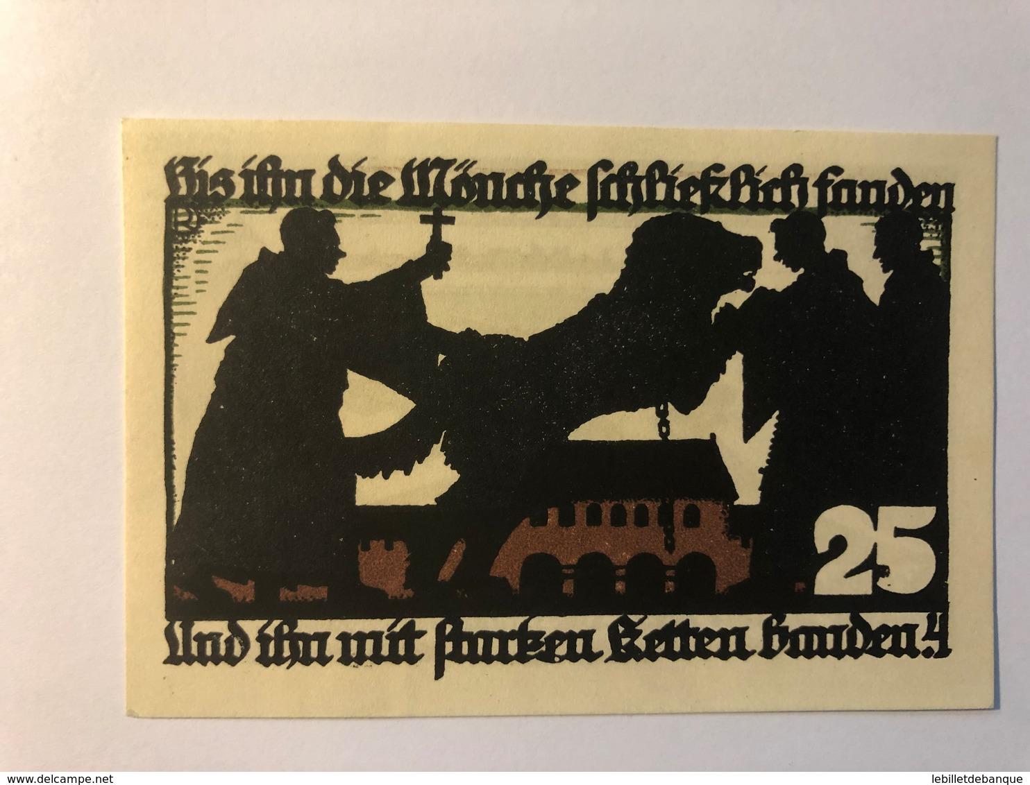 Allemagne Notgeld Vechiae 25 Pfennig - [ 3] 1918-1933 : République De Weimar