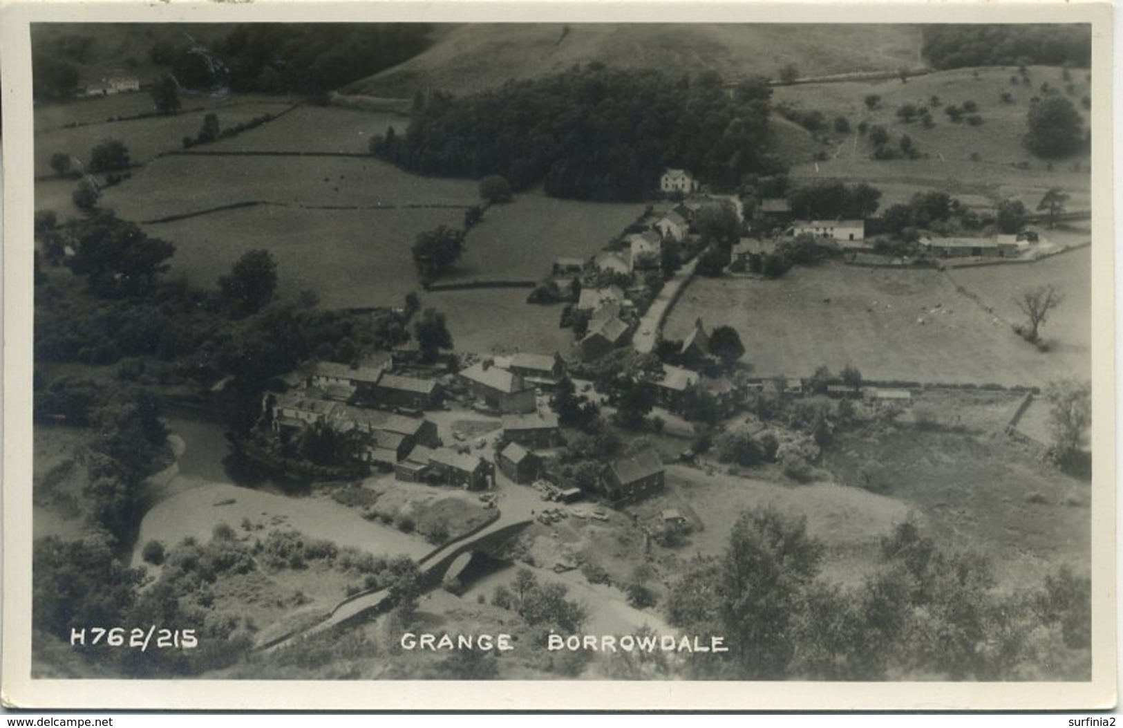 CUMBRIA - GRANGE BORROWDALE RP  T159 - Cumberland/ Westmorland