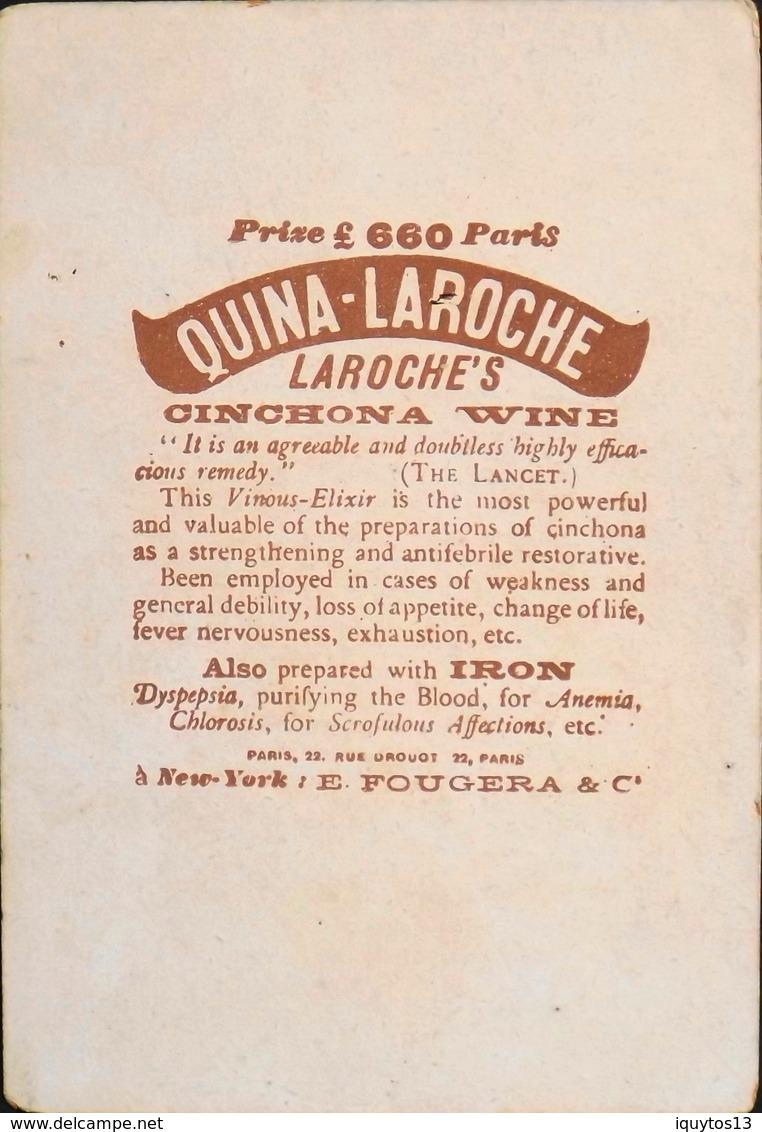 Très Belle Et Grande Chromo. QUINA LAROCHE - Sans Légende - TBE - Vieux Papiers