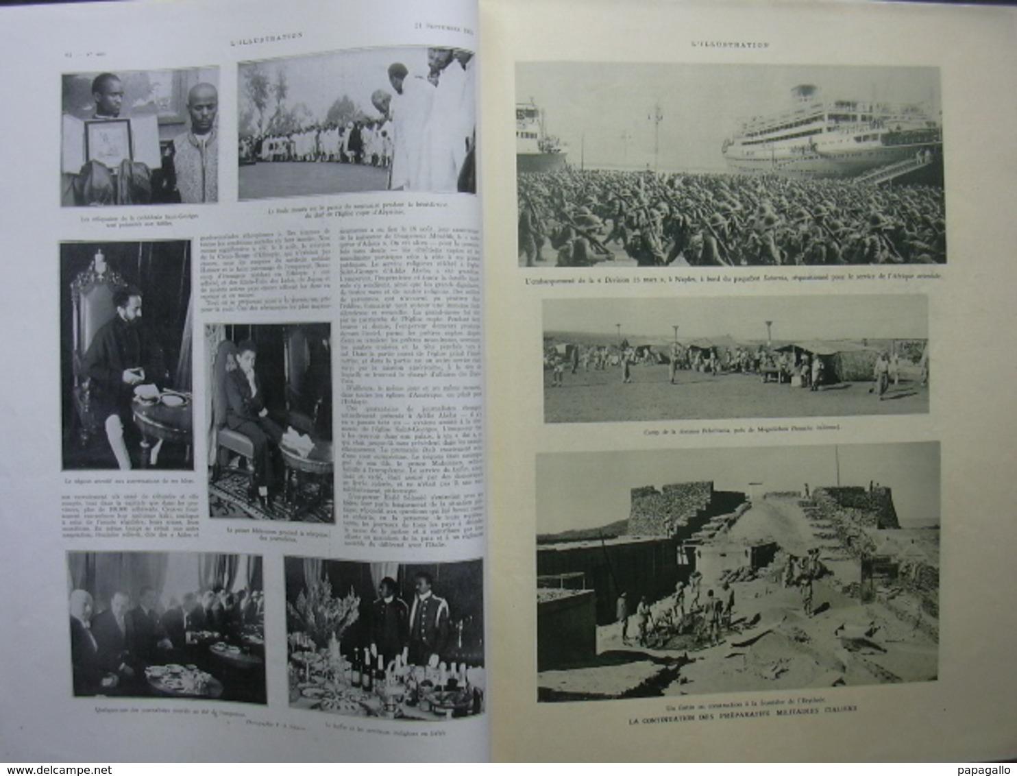 L'ILLUSTRATION 4829 SDN/ ETHIOPIE/ AVIATION/ POITOU - Journaux - Quotidiens