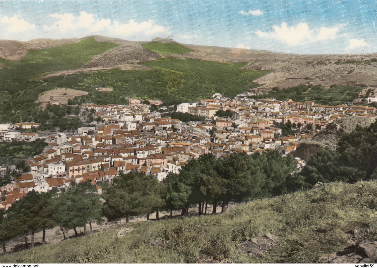 SANTU LUSSURGIU-ORISTANO-CARTOLINA VERA FOTOGRAFIA-VIAGGIATA IL 20-8-1966 - Oristano