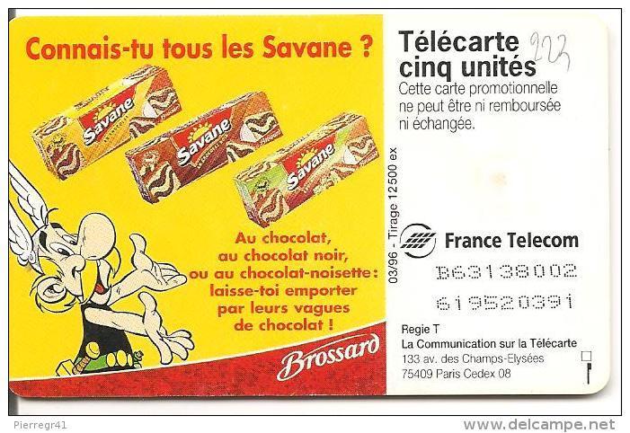 CARTE-PRIVEE-5U-03/96-GN223-GEMB Fond Rouge-SAVANE  DE BROSSARD-Série N° B63138001  -NEUVE-TBE    -LUXE - France