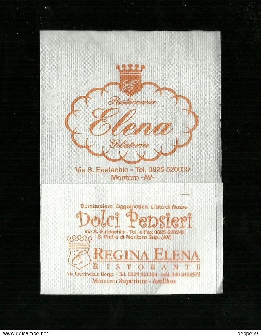 Tovagliolino Da Caffè - Caffè Pasticceria Elena - Montoro I ( Avellino ) - Reclameservetten