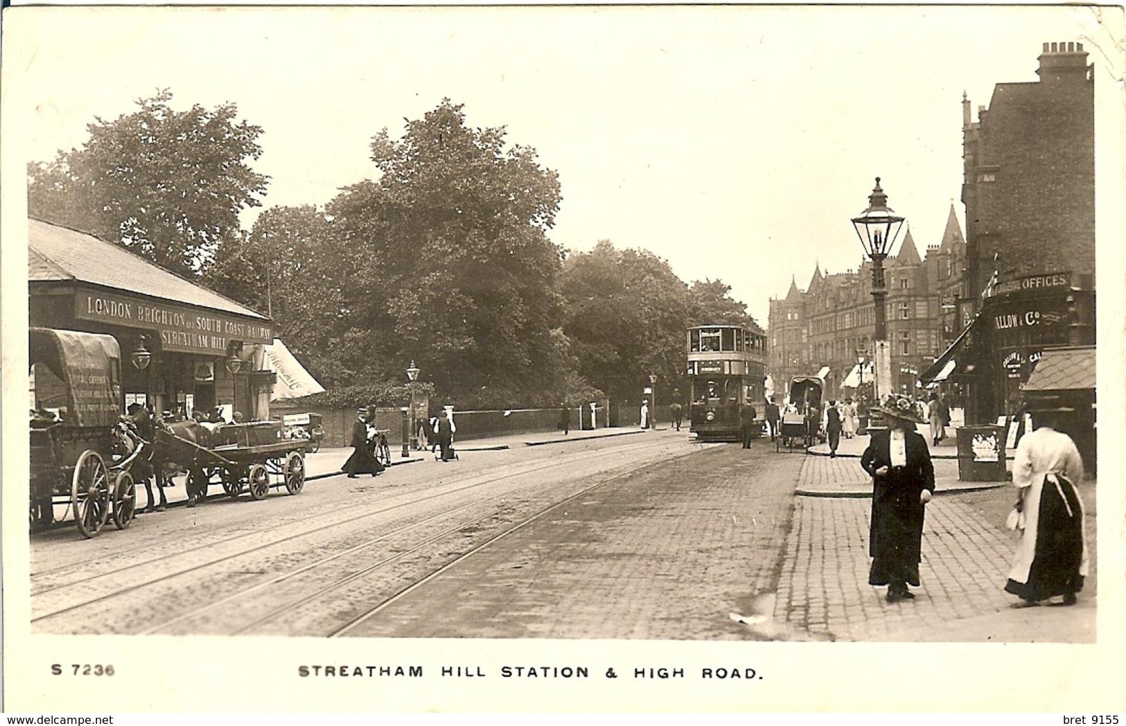STREATHAM HILL STATION & HIGH ROAD - London