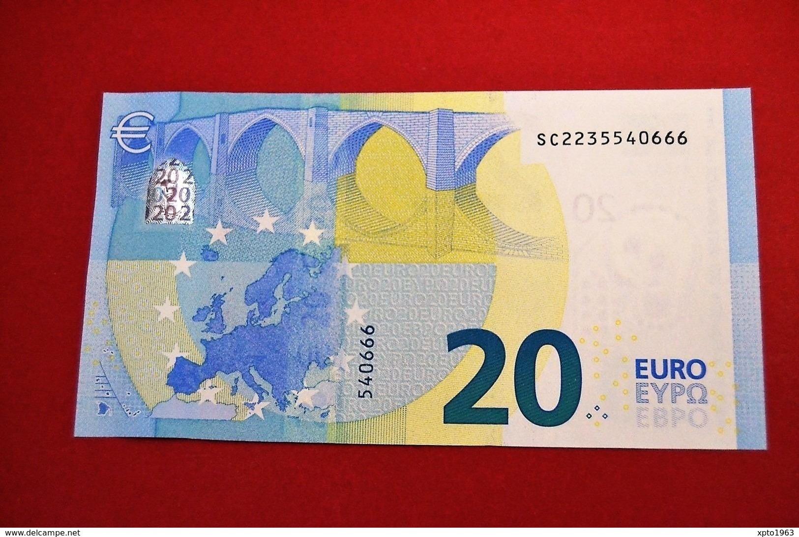 20 EURO ITALIA S008B4 - ITALY S008 B4 - SC2235540666 - NEUF - UNC - EURO