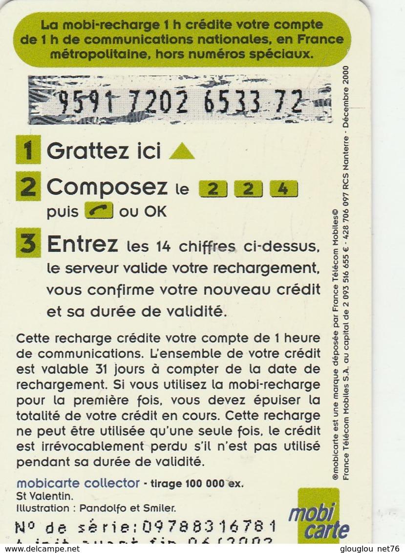 MOBICARTE  RECHARGE 1 HEURE - Mobicartes (recharges)