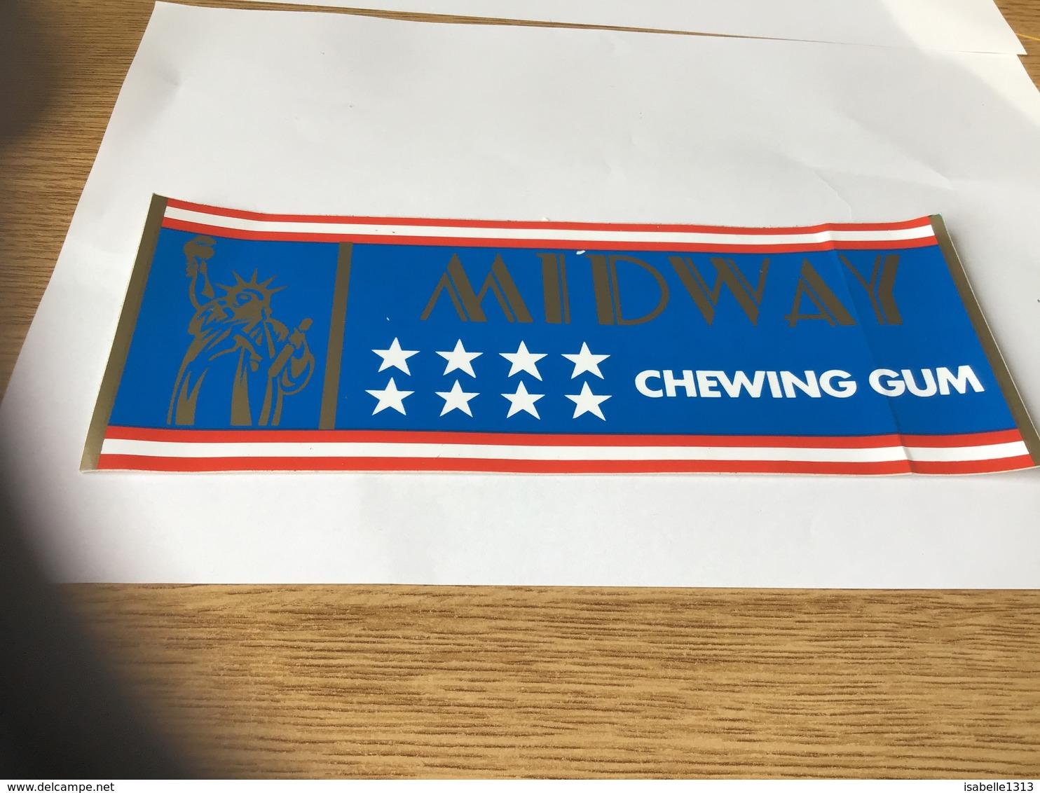 Ton Collant Années 80 Chewing-gum Mi Dway - Autocollants
