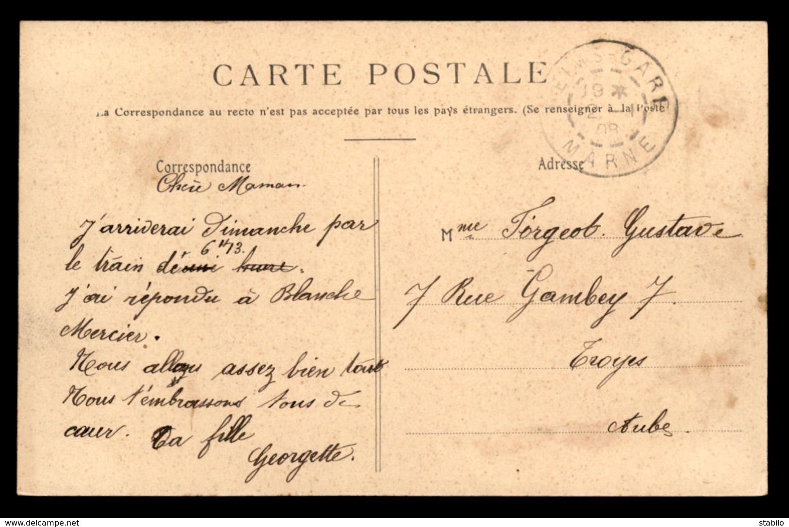 51 - REIMS - LES PETITES SOEURS DES PAUVRES - Reims
