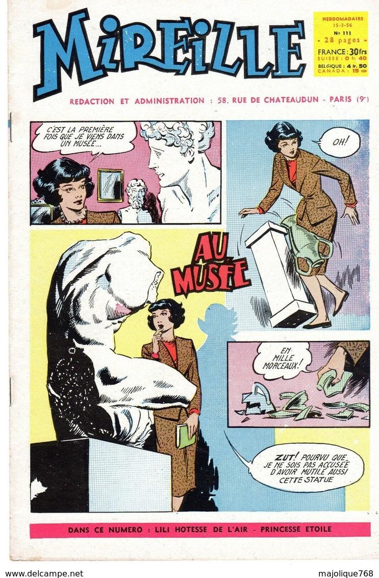 Magazine Mireille Hebdomadaire N°111 Du 15-03-1956 - Au Musée - - Autre Magazines