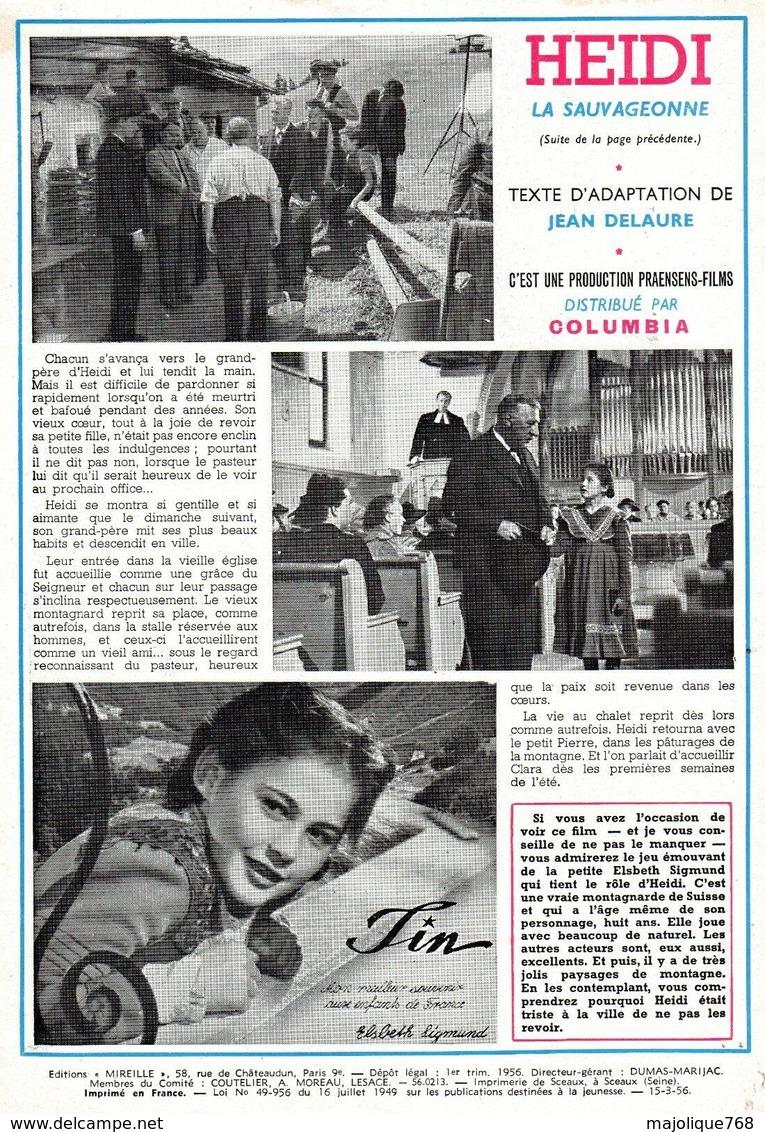 Magazine Mireille Hebdomadaire N°111 Du 15-03-1956 - Au Musée - - Magazines Et Périodiques