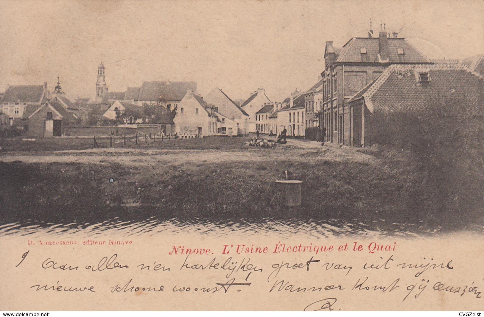 Ninove - L'Usine Electrique Et Le Quai - Ninove
