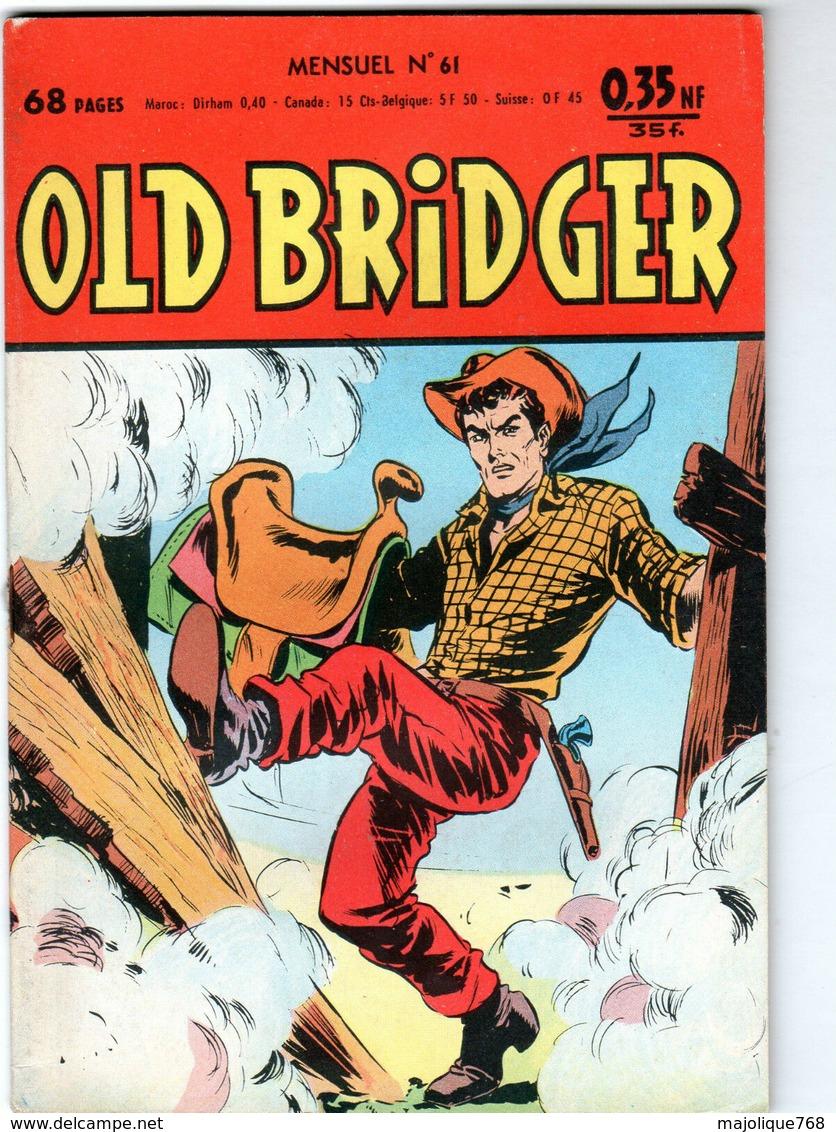 BD De Old Bridger N° 61 Le 07 Décembre 1961-édition Del-duca- - Petit Format