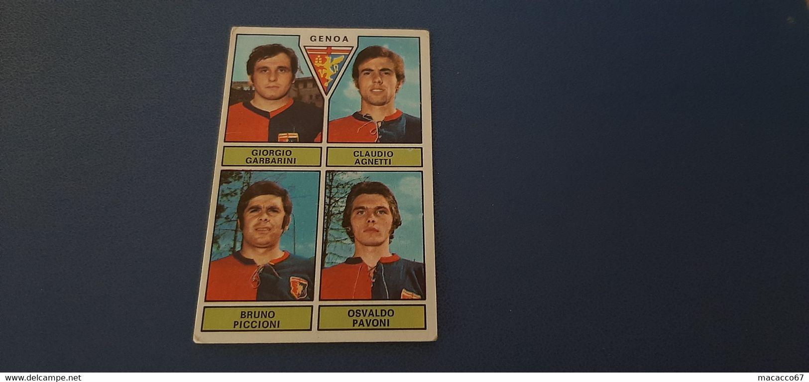 Figurina Calciatori Panini 1971/72 - Garbarini Genoa - Panini