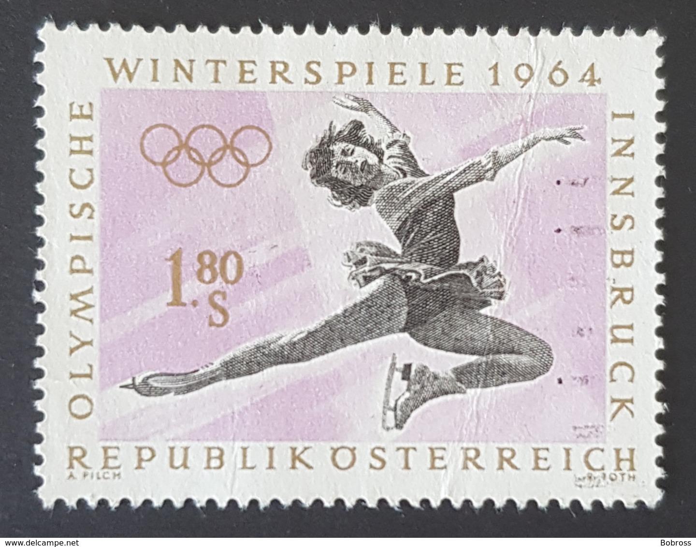 1963 Winter Olympic Games, Innsbruck 1964, Republik Österreich, Austria, Autriche, *,**, Or Used - 1961-70 Afgestempeld