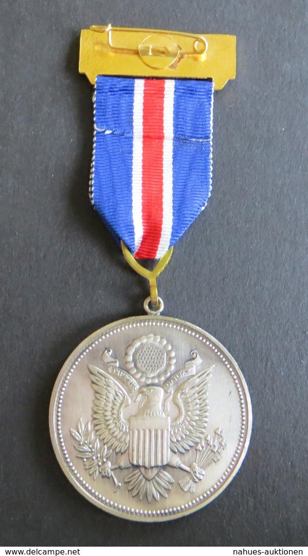 Medaille Königsland Aschbach George Washington 1 Präsident USA 1732-1799 - Deutschland