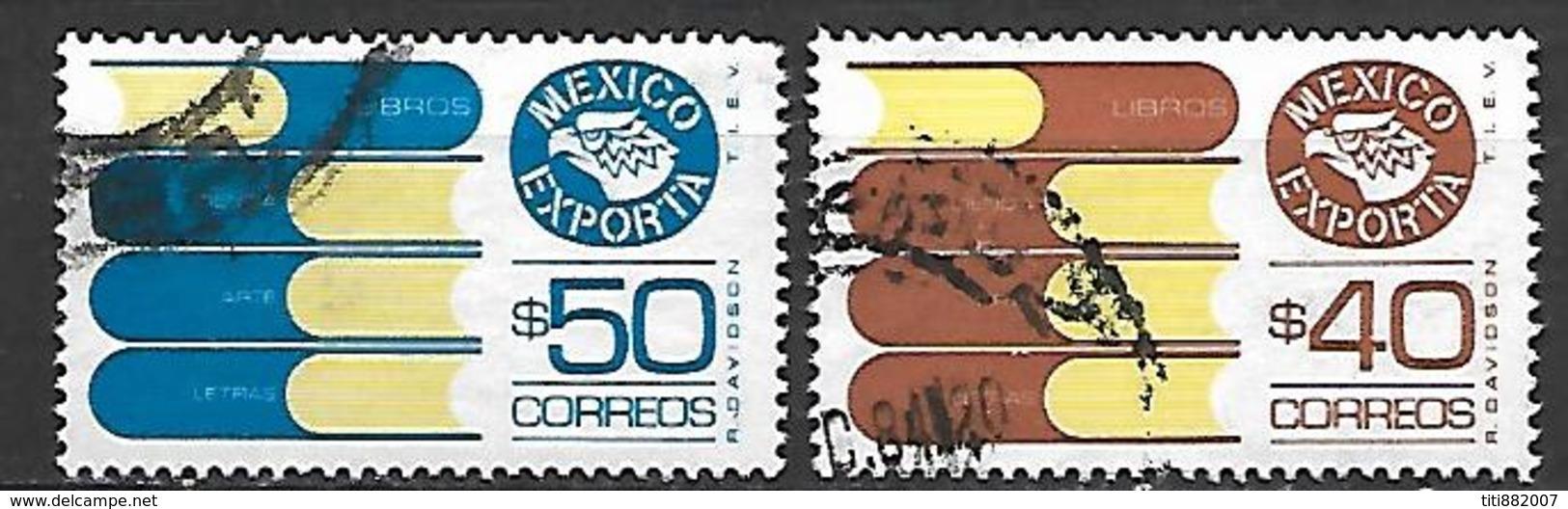 MEXIQUE   -   Exportations   /   Livres  .   Oblitérés  . - Mexique
