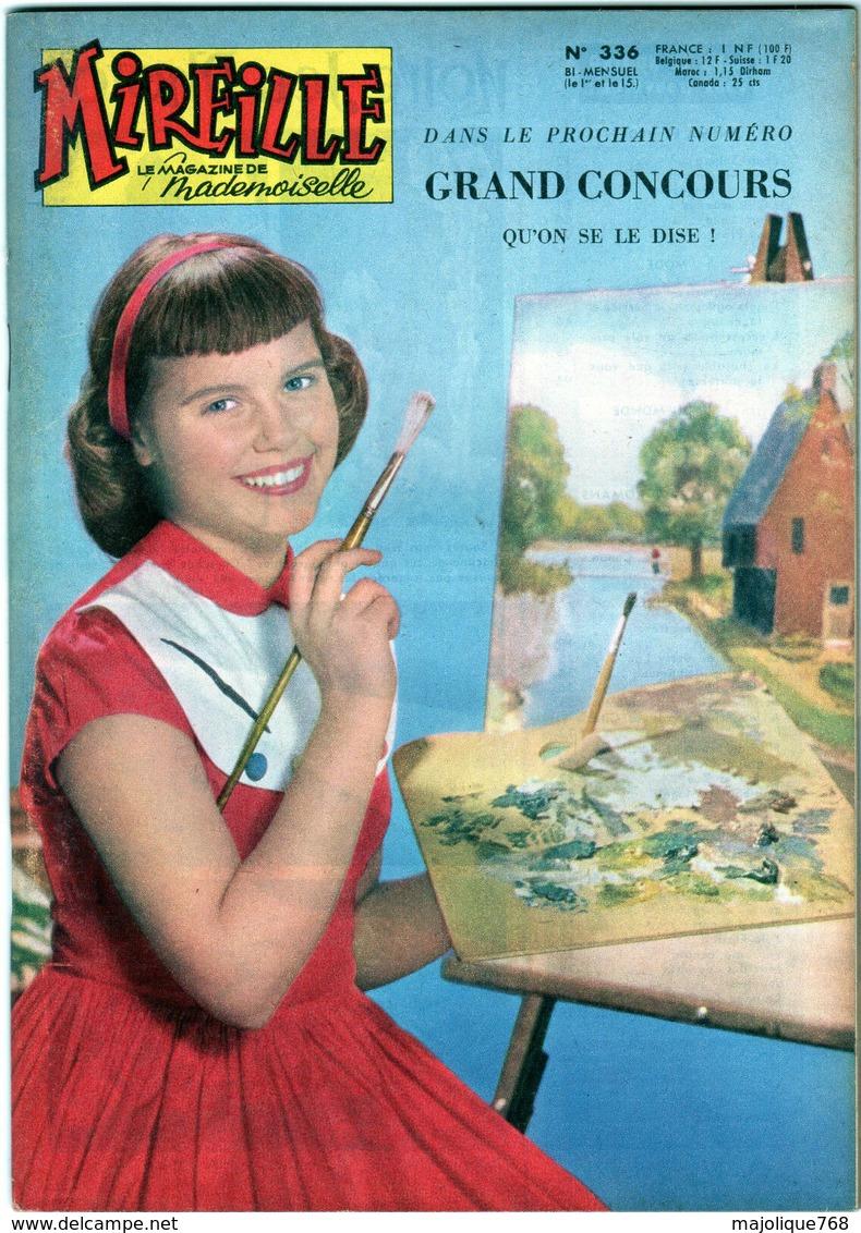 Mireille Le Magazine De Mademoiselle N°336 Le 15 Avril 1961 édition Del Duca - Magazines Et Périodiques