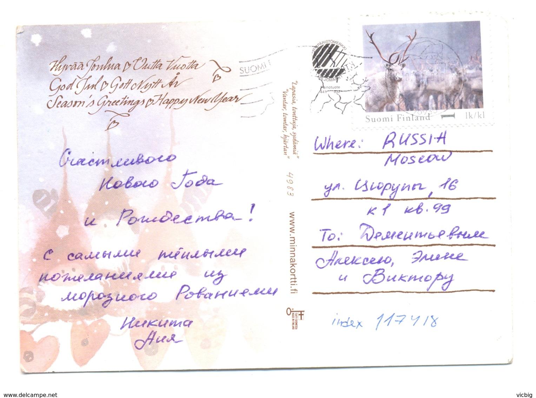 Finland Happy New Year Deer - Finland