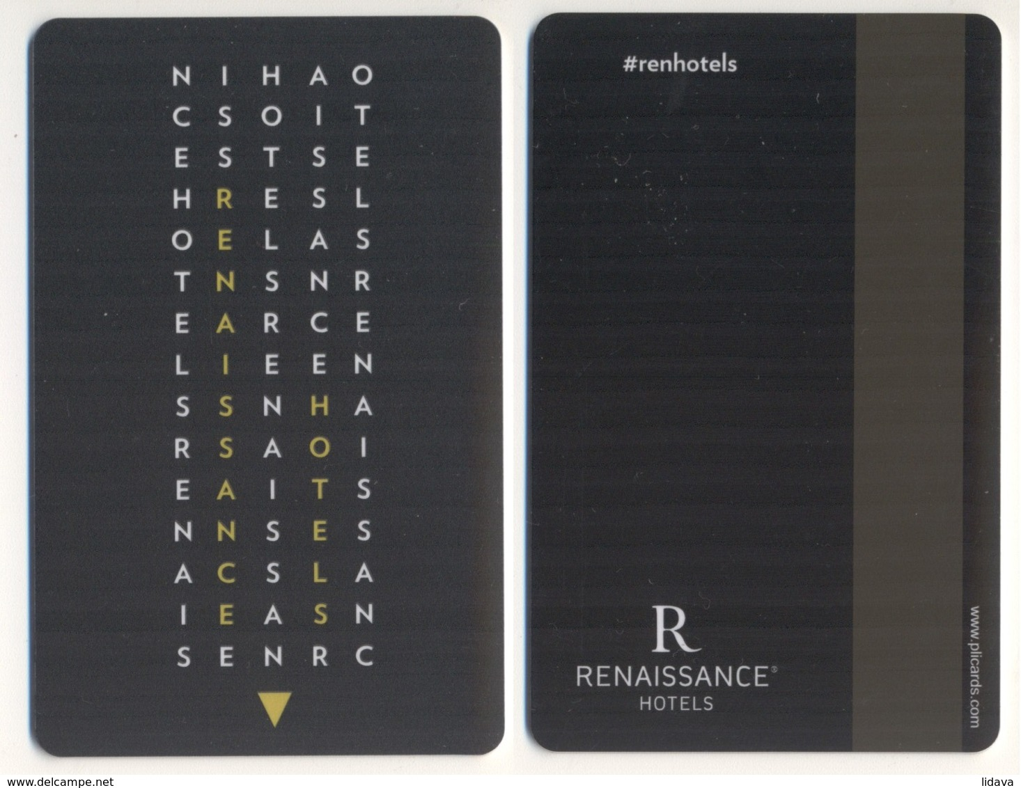 Hotel Key Card RENAISSANCE HOTELS - Chiavi Elettroniche Di Alberghi