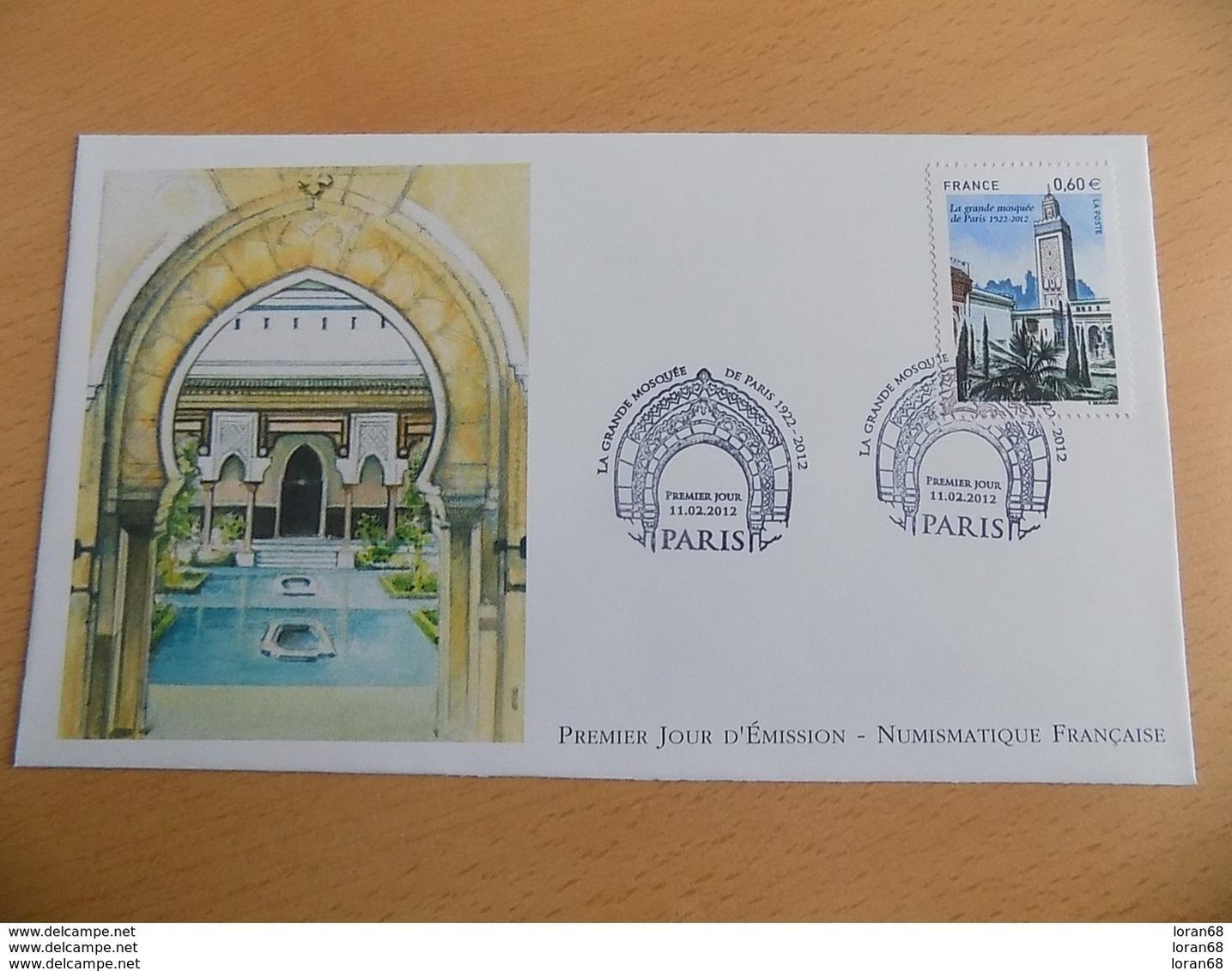 FDC France : La Grande Mosquée De Paris 11/02/2012 - FDC