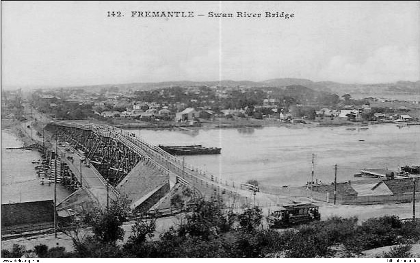 AUSTRALIE - FREMENTLE - SWAN RIVER BRIDGE - Autres