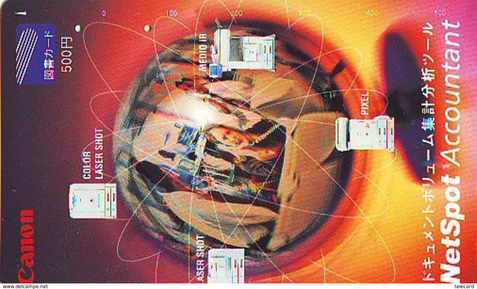 Carte Prépayée Japon  ESPACE (872)  GLOBE * SATELLITE * TERRESTRE * MAPPEMONDE * Telefonkarte Phonecard JAPAN * - Espace