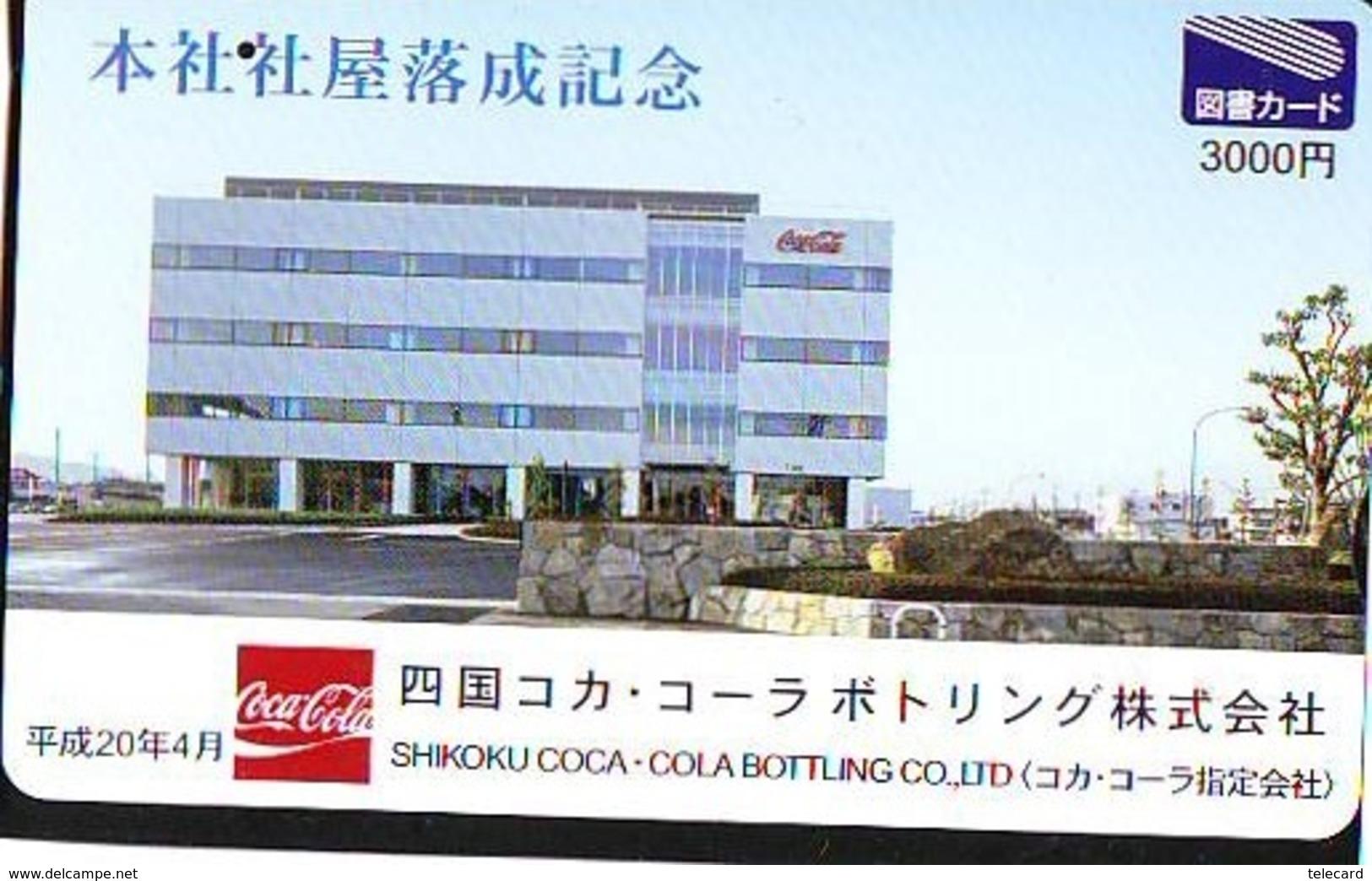 Carte Prépayée  Japon *  COCA COLA  (2160)  *  JAPAN Phonecard *  PREPAID CARD - Publicité