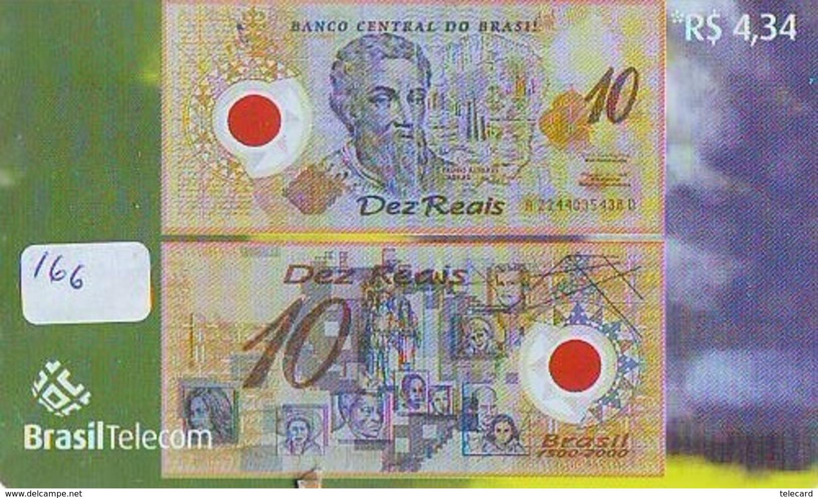 BRASIL * TELECARTE * BILLET De Banque * (166) Banknote * Japan Phonecard  GELDSCHEIN * Coin * BANKBILJET - Timbres & Monnaies