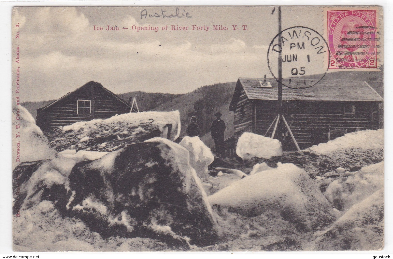 Océanie - Australie - Ice Jain - Opening Of River Forty Mile Y. T. - Autres