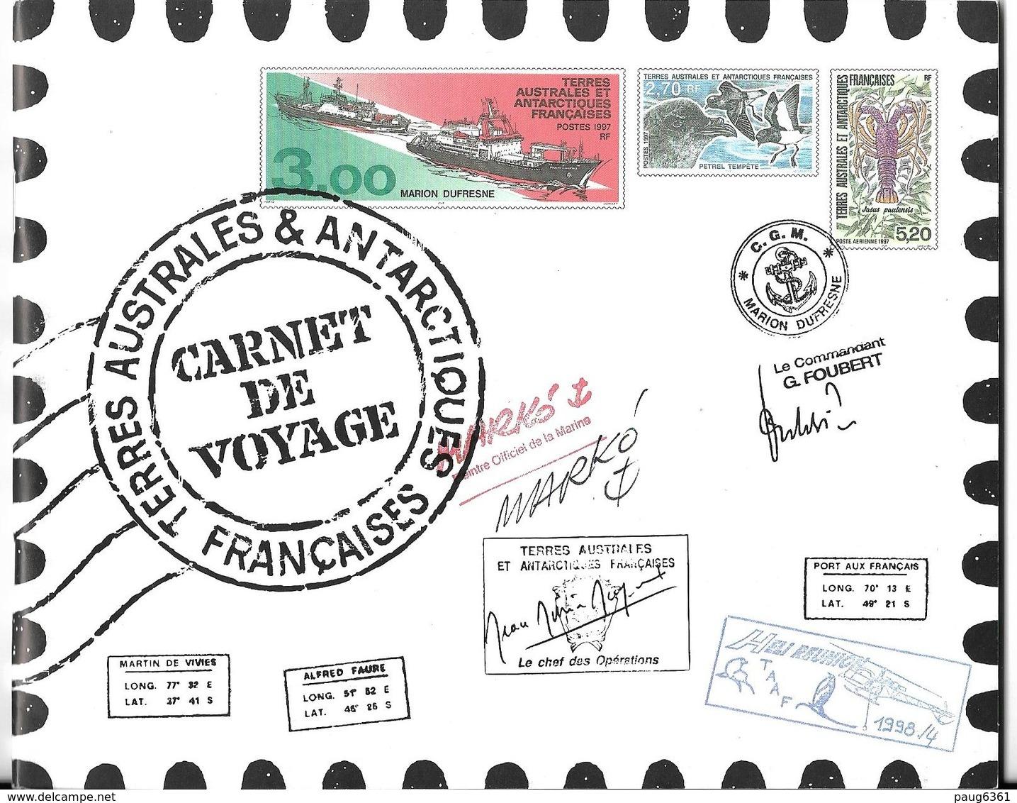 TAAF 1999 CARNET DE PRESTIGE-CARNET DE VOYAGE YVERT N°C248 NEUF MNH** - Carnets