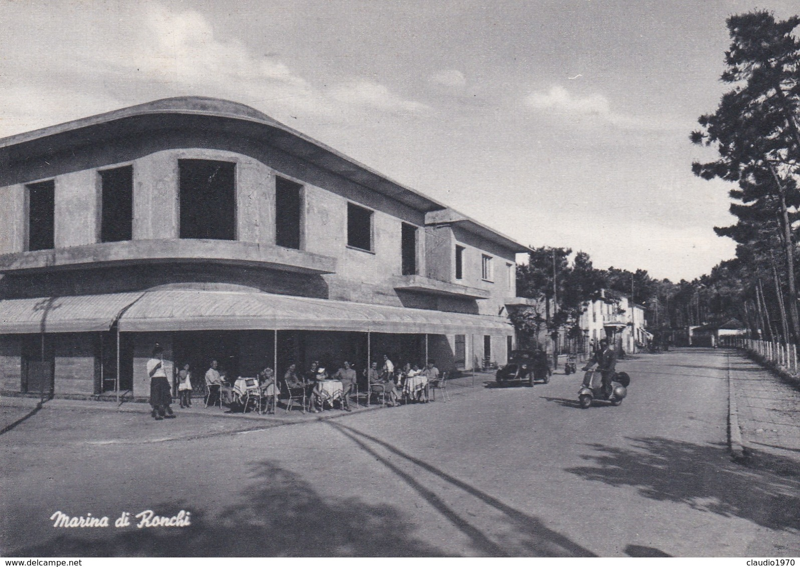 CARTOLINA - POSTCARD - MASSA - MARINA DI RONCHI - Massa