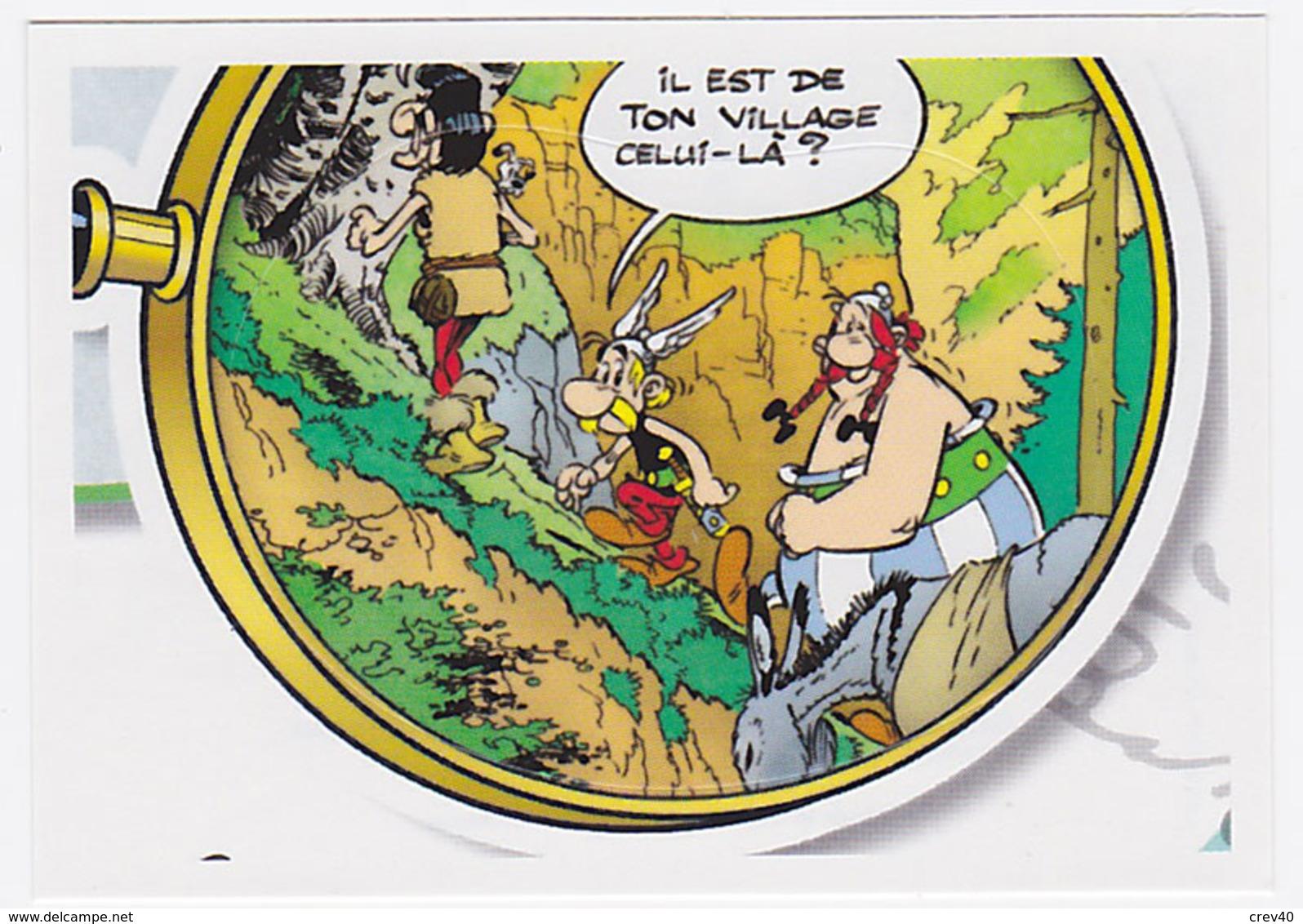 Autocollant Panini Carrefour Astérix - N° 24 - Panini