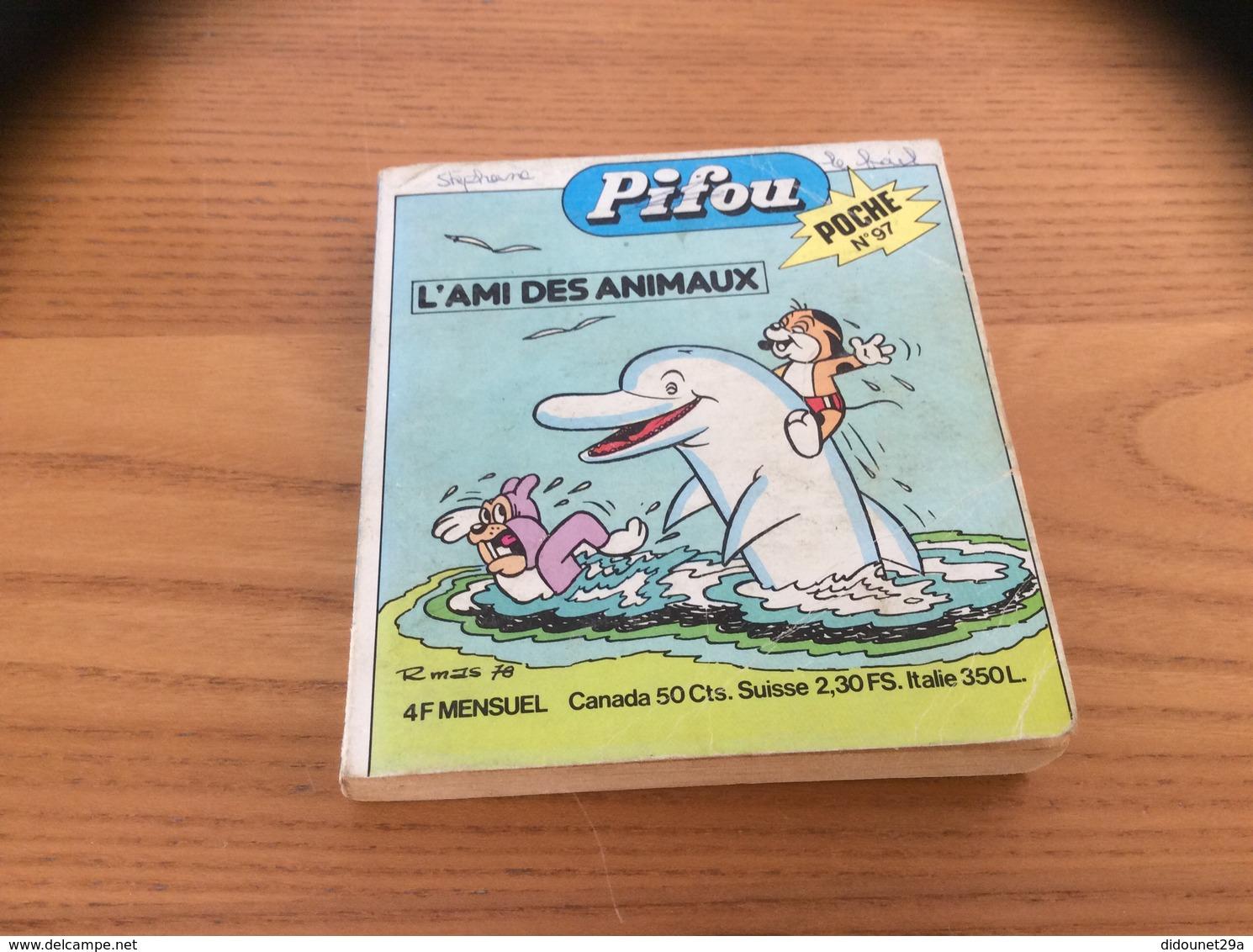 Pifou POCHE N° 97 (198 Pages) 1978 - Magazines Et Périodiques