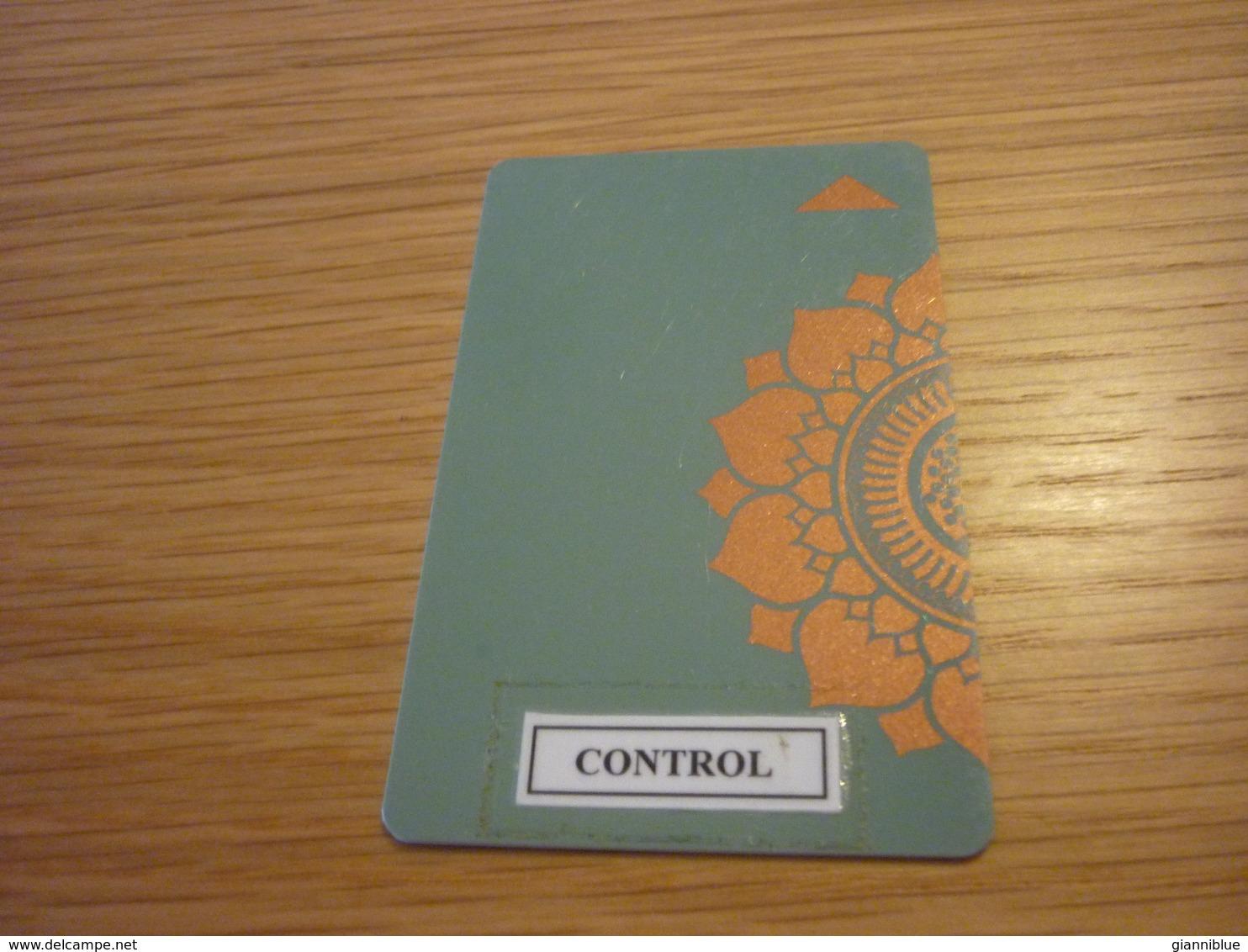 Thailand Bangkok Four Seasons Hotel Room Key Card (control Sticker) - Hotel Keycards