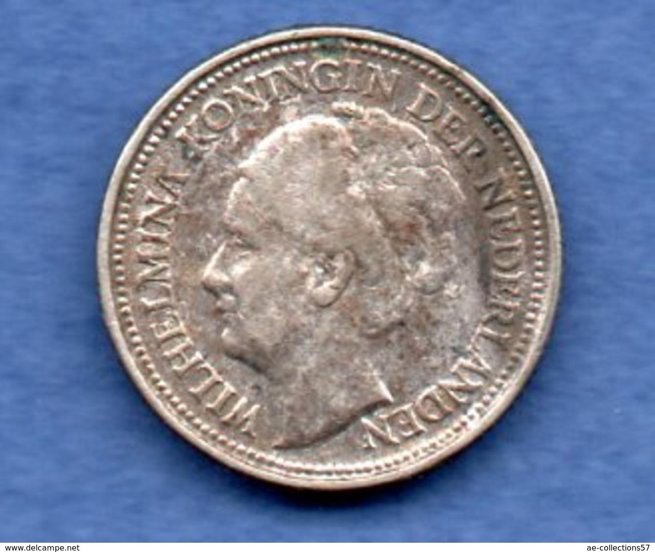 Pays - Bas  -  10 Cents 1935 --  Km # 163 --  état  TTB - [ 3] 1815-… : Koninkrijk Der Nederlanden