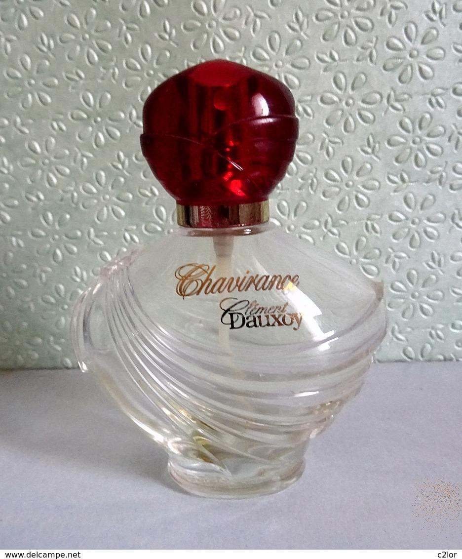 """Flacon Spray  """"CHAVIRANCE """"  De CLEMENT DAUXOY Eau De Toilette 100 Ml Vide/Empty Pour Collection - Bottles (empty)"""