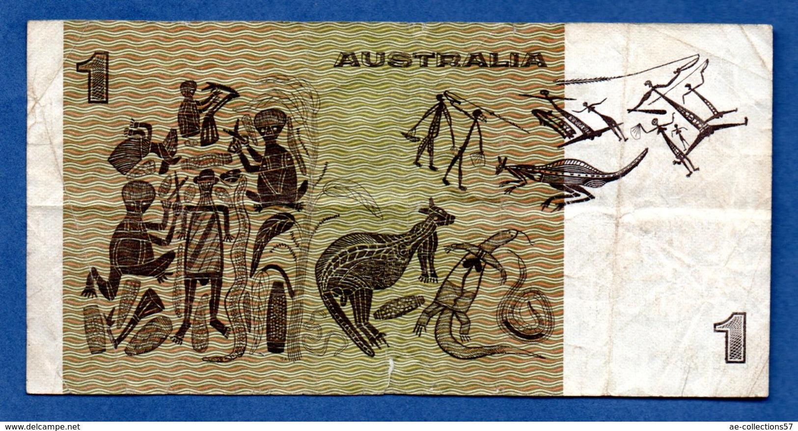 Australie  -  1 Dollar --  Pick # 42  -  état  TB - Government Bank Issues 1910