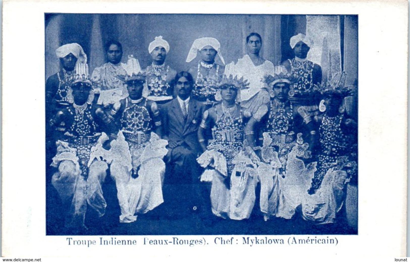Troupe Indienne Peaux Rouges : Chef : Mykalowa (Américain) - Evénement - Ethniques & Cultures