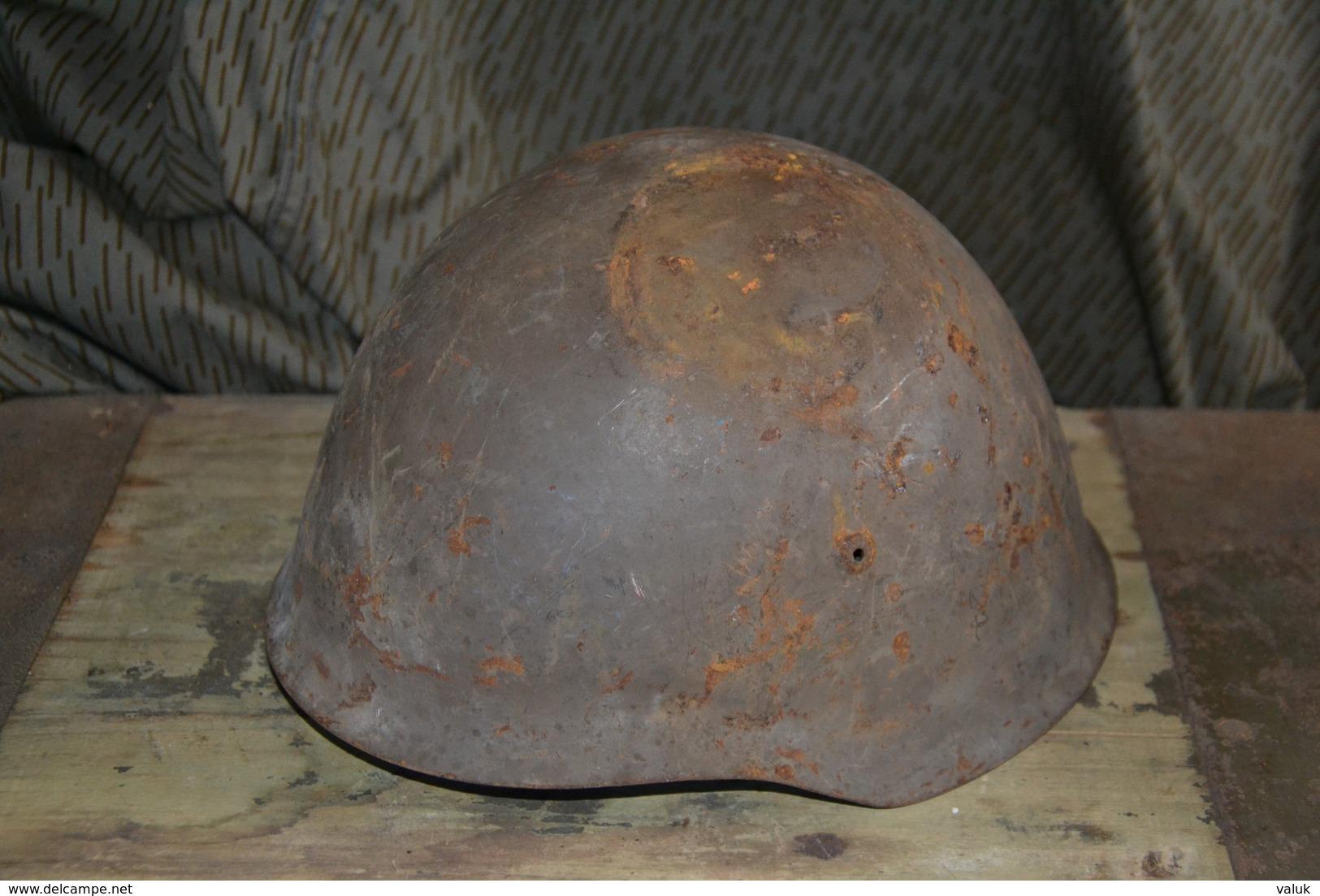 Portugal Portuguese Ww2 Helmet M40 - Hoeden