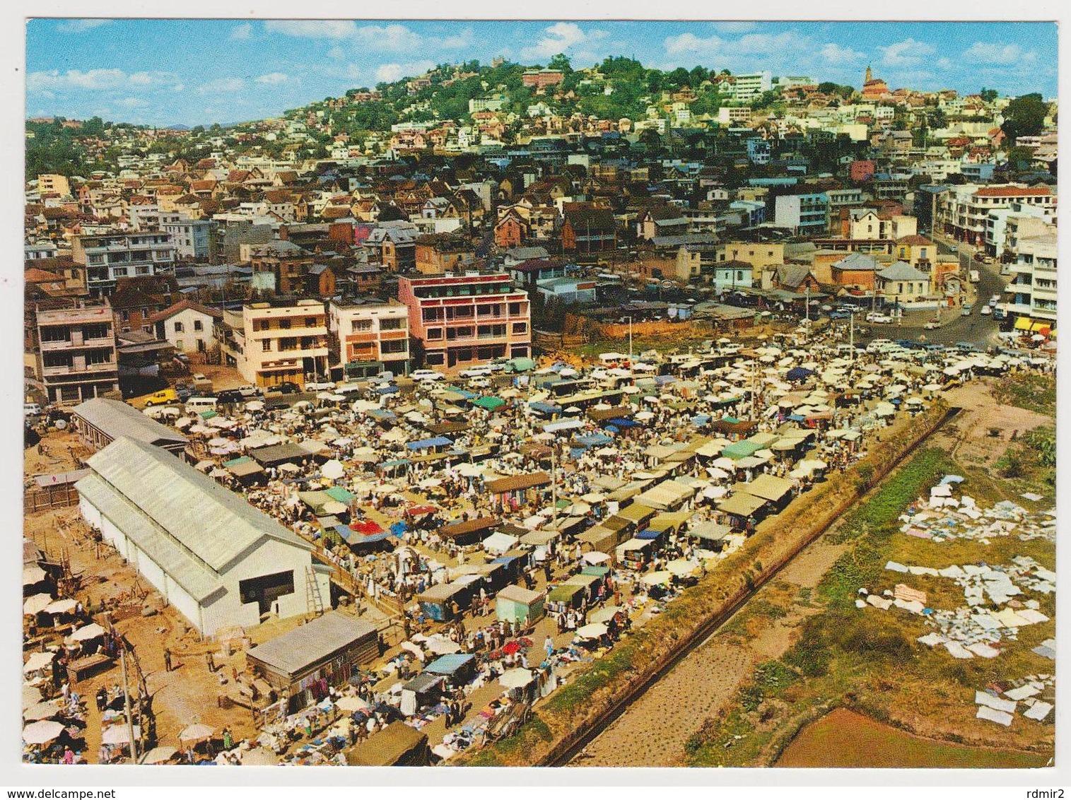 1673/ TANANARIVE. Marché D'Andravoahangy (1970s, Disparu). - Non écrite. Unused. No Escrita. Non Scritta. - Madagascar