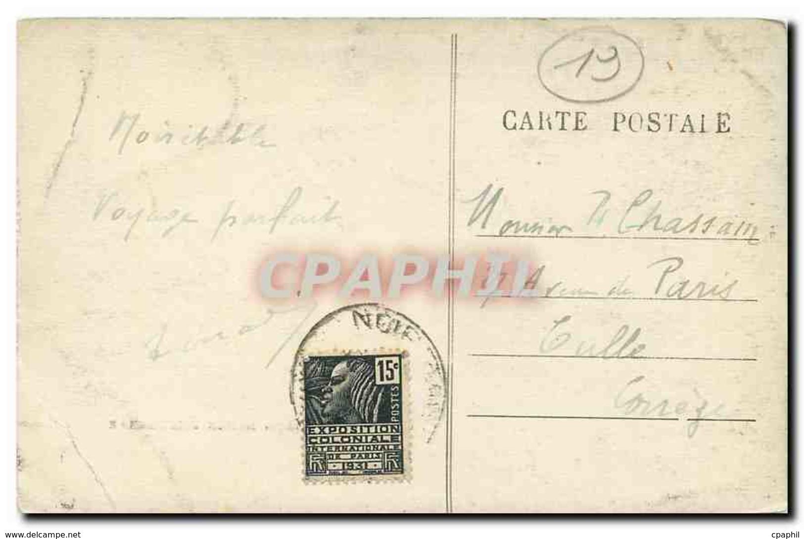 CPA Beaulieu Abside De L'eglise - France