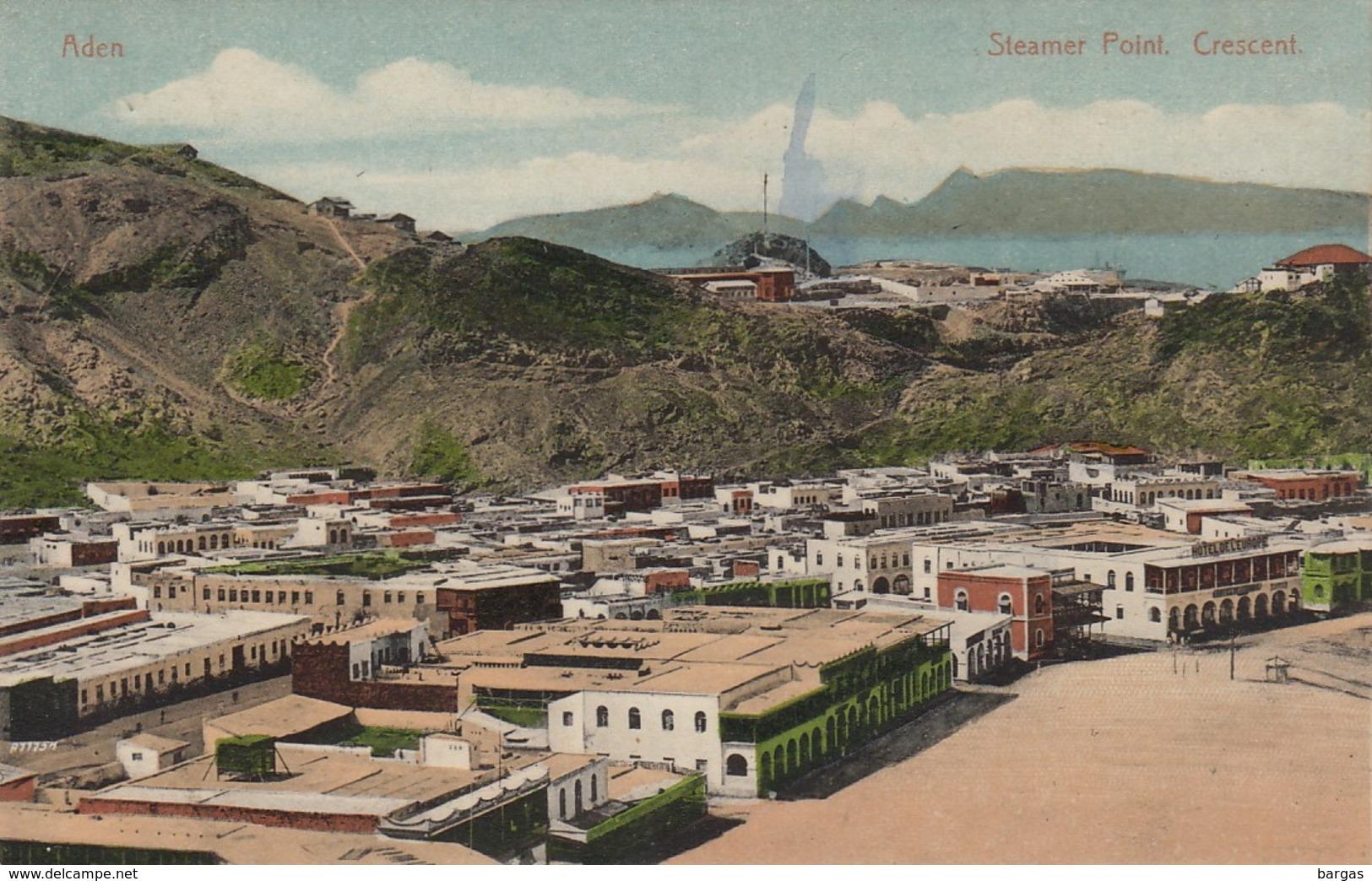 Yemen Aden Steamer Point Crescent - Yémen
